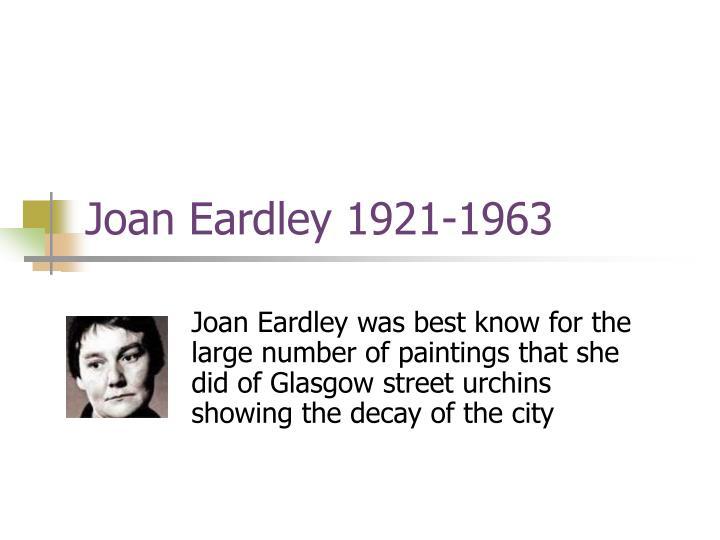 joan eardley 1921 1963 n.