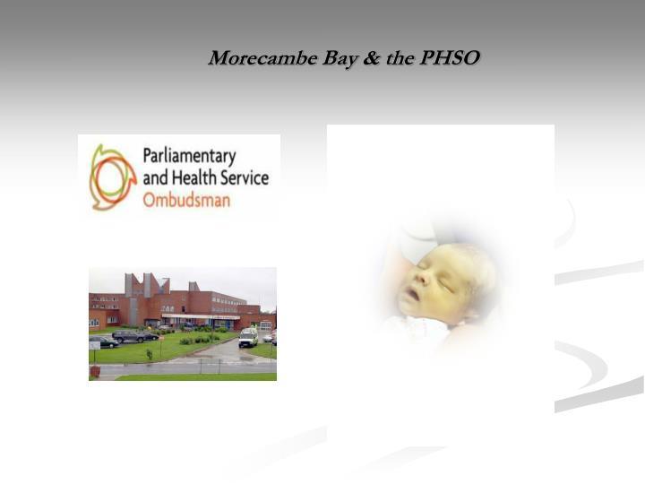 morecambe bay the phso n.