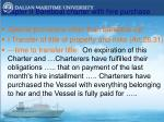 chapter ii bareboat charter with hire purchase