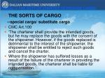chapter v the duty of charter to provide cargo