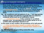 the general principles of effectiveness