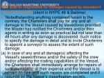 who shall be responsible for damages caused by stevedore
