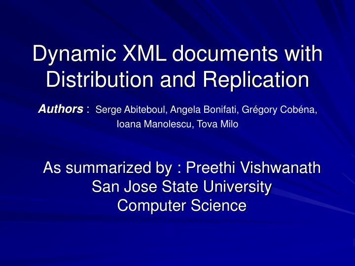 As summarized by preethi vishwanath san jose state university computer science