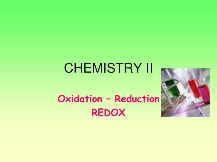 chemistry ii n.