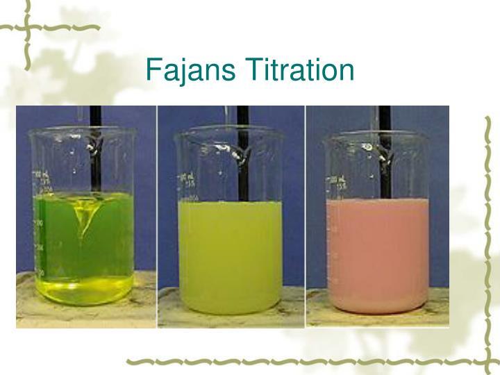 Ppt Precipitation Titration Powerpoint Presentation Id