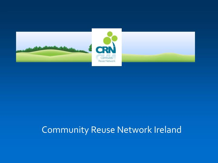 Community Reuse Network Ireland