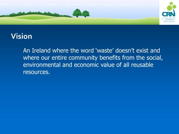An Ireland where the word