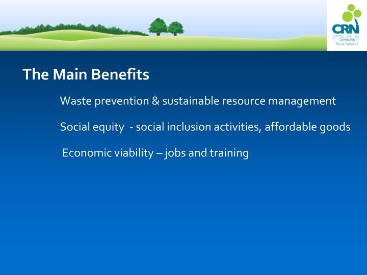 The Main Benefits