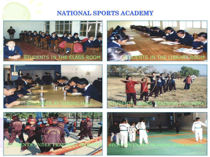 NATIONAL SPORTS ACADEMY
