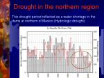 drought in the northern region