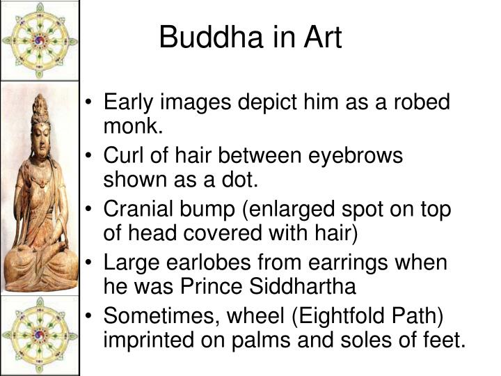 Early images depict him as a robed monk.