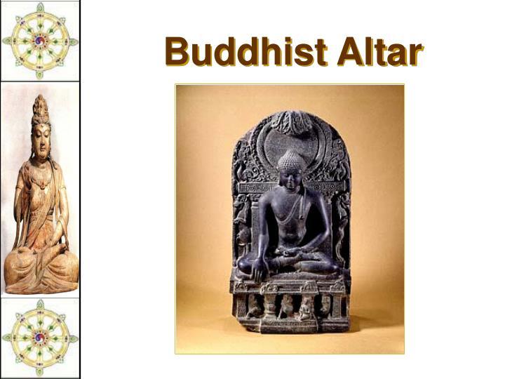 Buddhist Altar