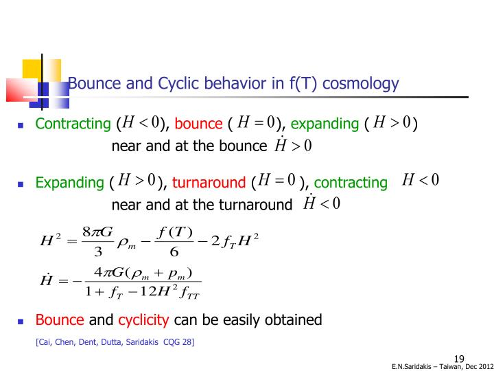 Bounce and Cyclic behavior in f(T) cosmology