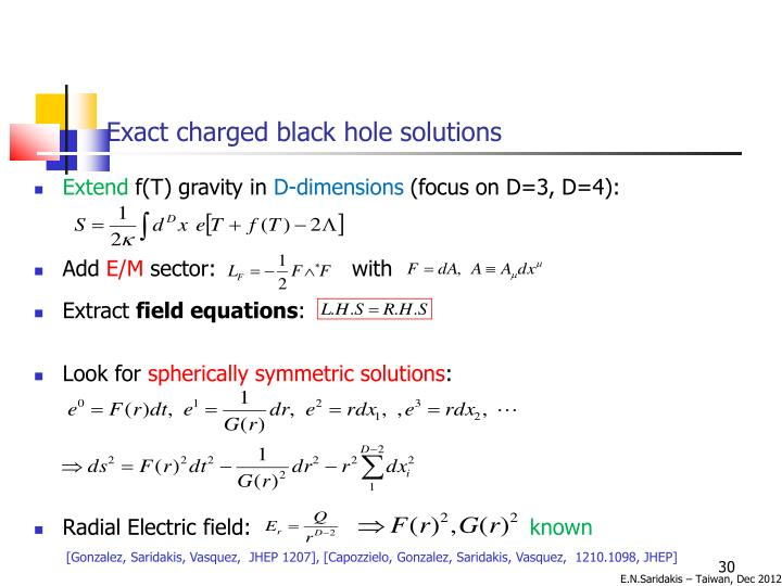 Exact charged black hole solutions