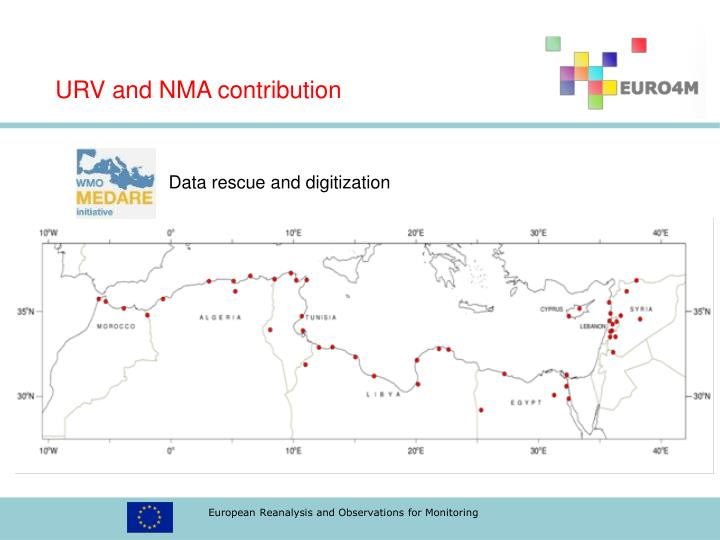 URV and NMA contribution