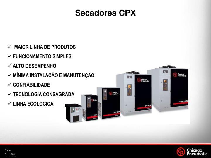 Secadores CPX