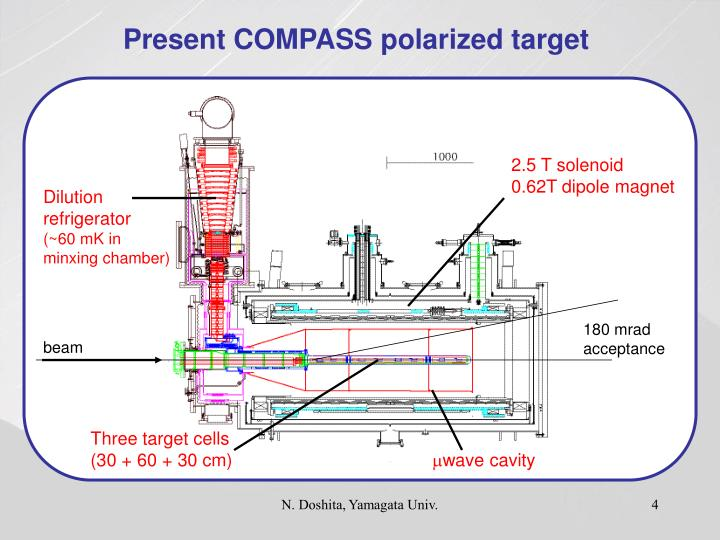 Present COMPASS polarized target