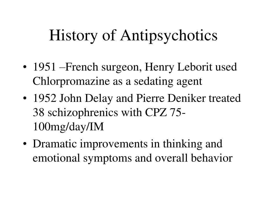 PPT - Antipsychotic Medications in the Primary Care Practice