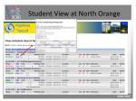 student view at north orange5