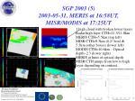 sgp 2003 5 2003 05 31 meris at 16 58ut misr modis at 17 25ut