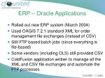 erp oracle applications