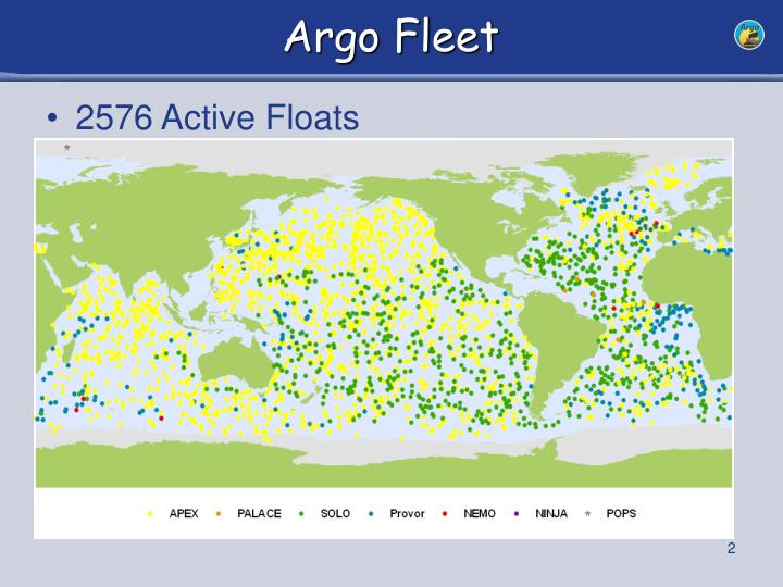 Argo fleet