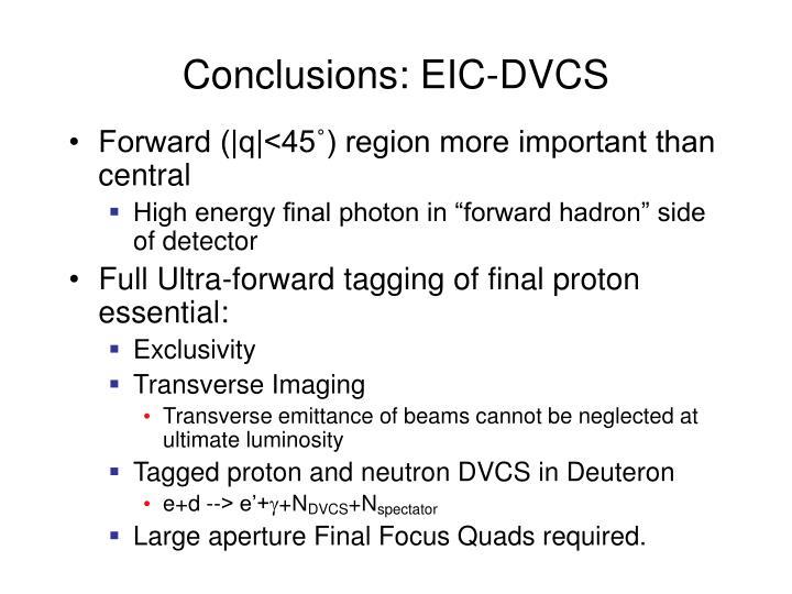 Conclusions: EIC-DVCS