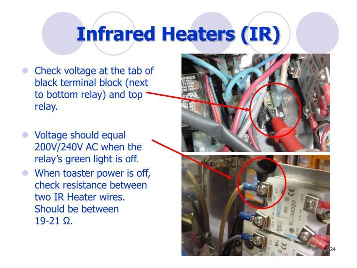 Infrared Heaters (IR)