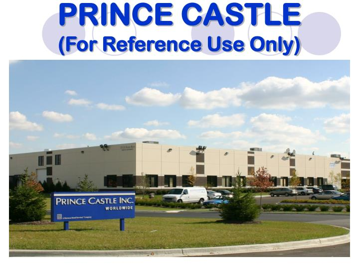 Prince castle for reference use only