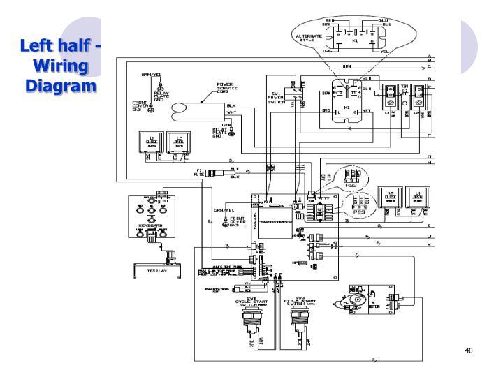 Left half -Wiring Diagram