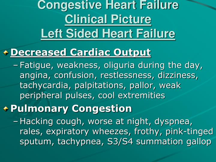 Heart failure case study powerpoint