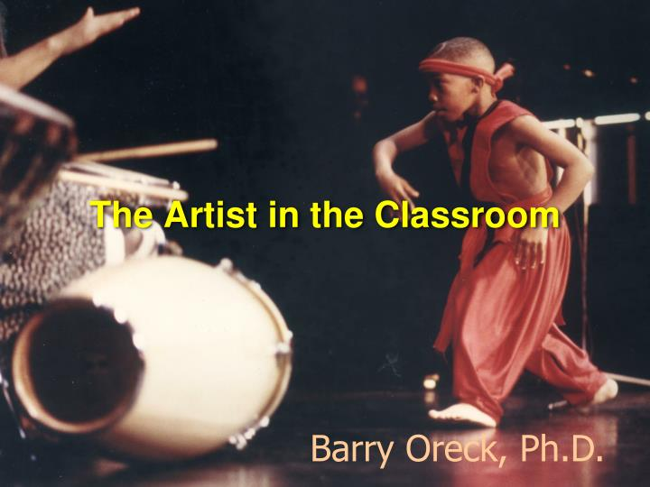 the artist in the classroom n.