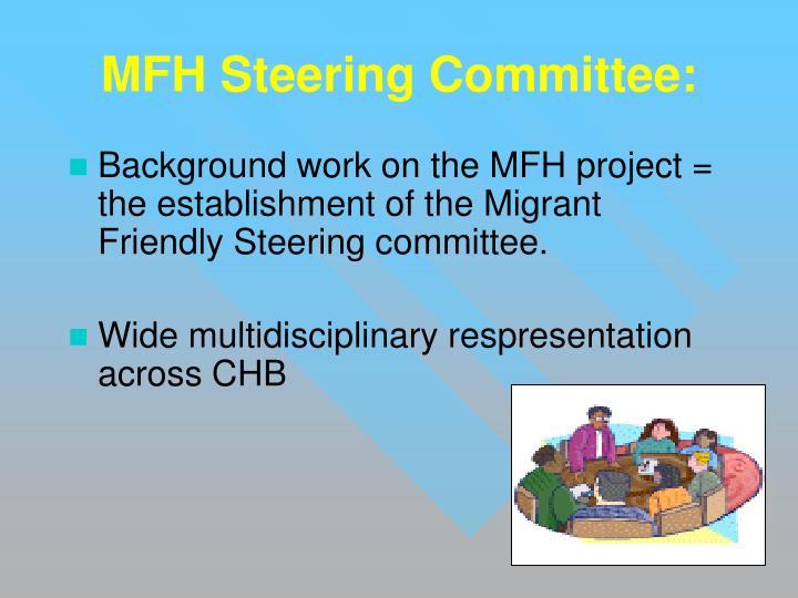 MFH Steering Committee: