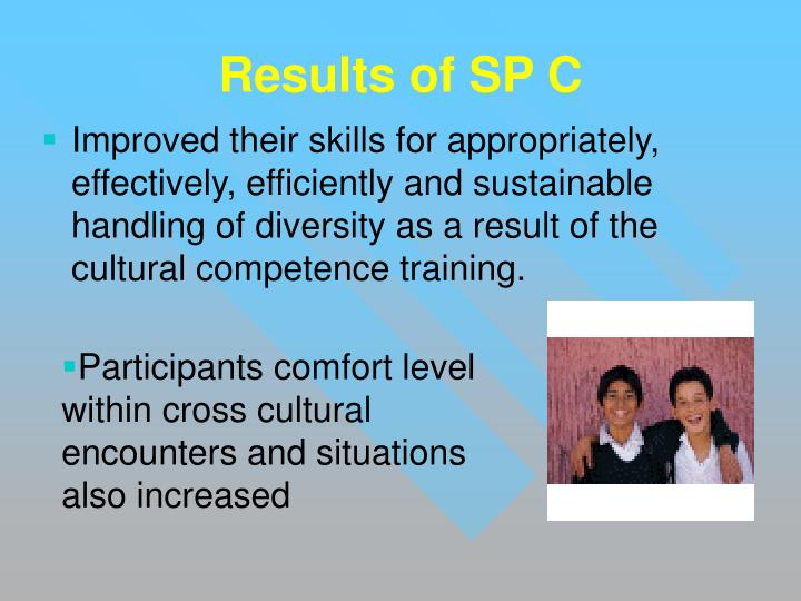 Results of SP C