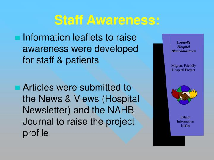 Staff Awareness: