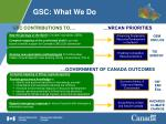 gsc what we do