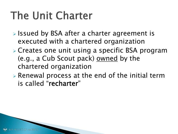 Ppt Rechartering Your Scouting Unit Powerpoint Presentation Id