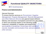 functional quality objectives4