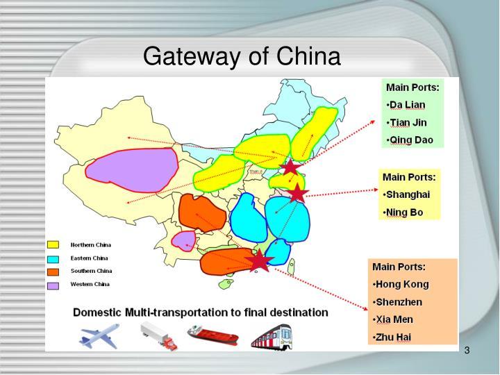 Gateway of China