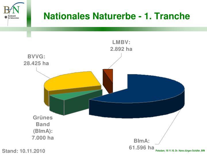 Nationales naturerbe 1 tranche