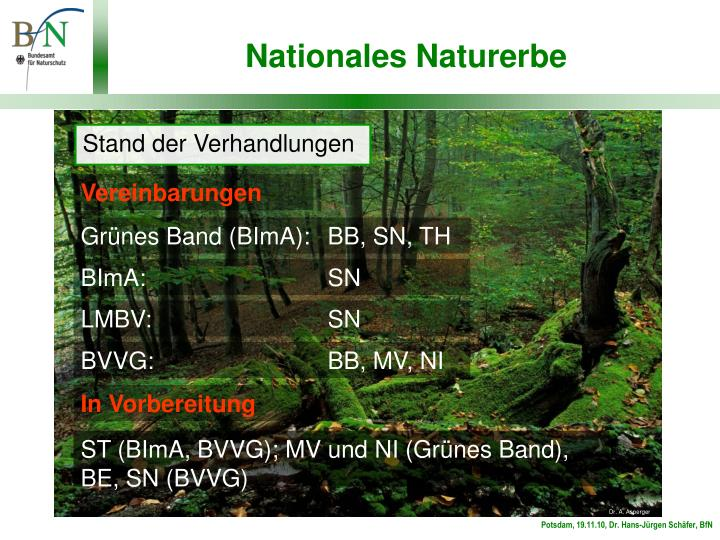 Nationales Naturerbe