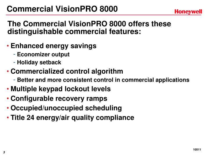 Commercial visionpro 80001