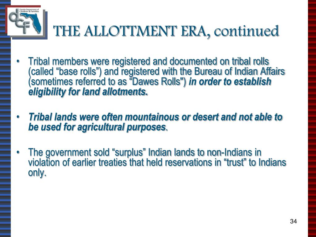 PPT - THE INDIAN CHILD WELFARE ACT PowerPoint Presentation