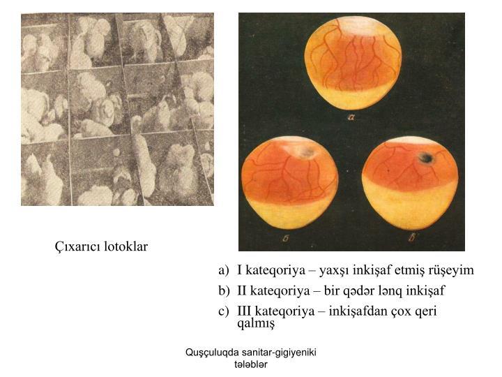 Çıxarıcı lotoklar