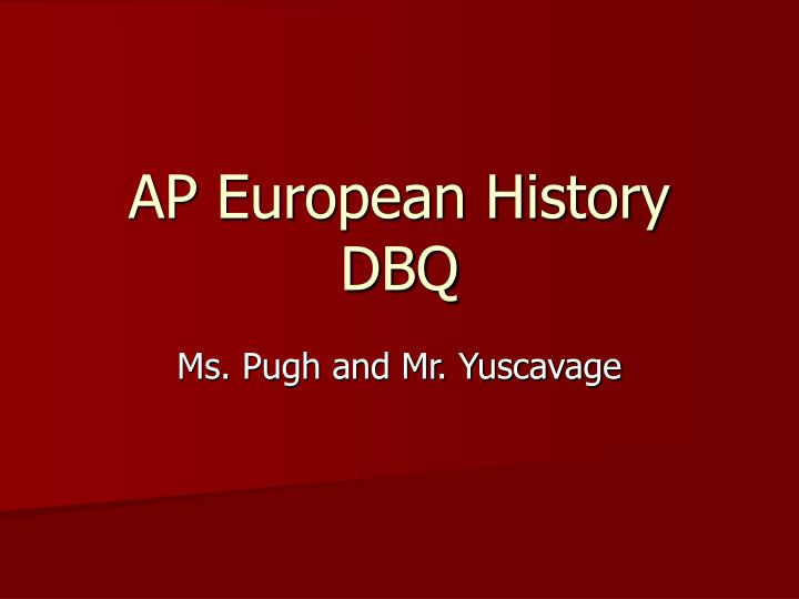 ap european history child rearing dbq