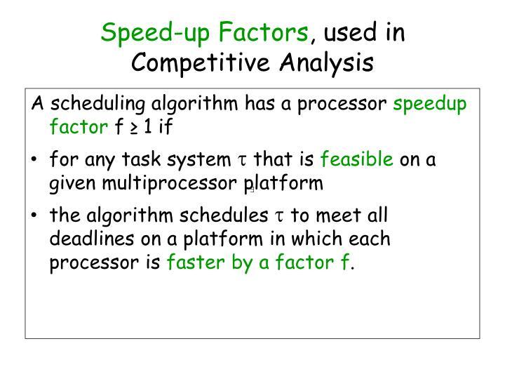 Speed-up Factors