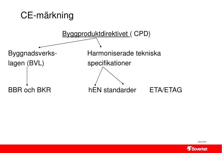 CE-märkning