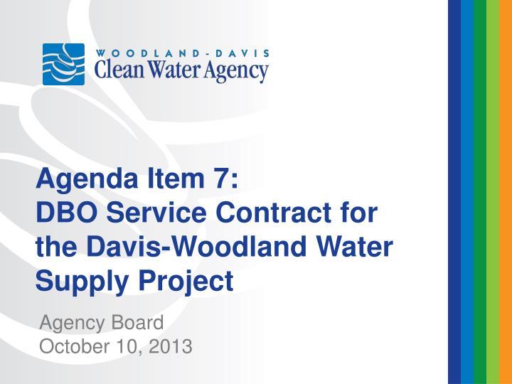 Agenda Item 7: