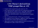ltg threat 1 derived from wrf graupel flux at 15c