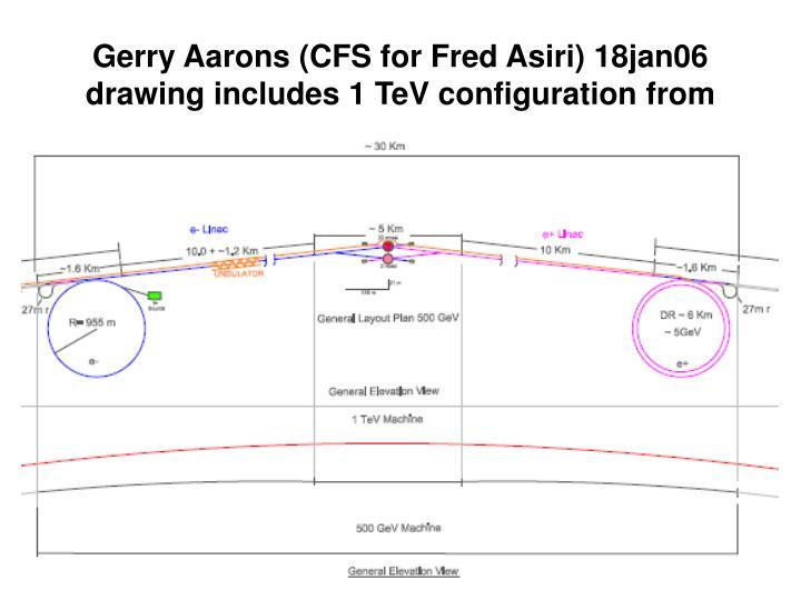 Gerry Aarons (CFS for Fred Asiri) 18jan06